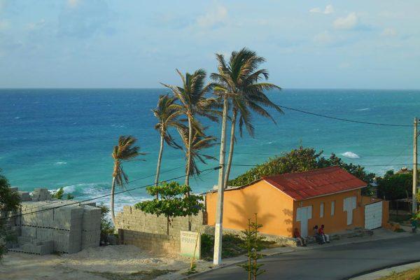 Carribean coast near the larimar mine