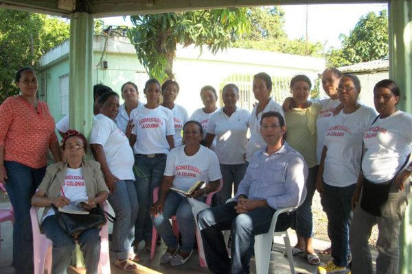 Peace Corps work with local community group